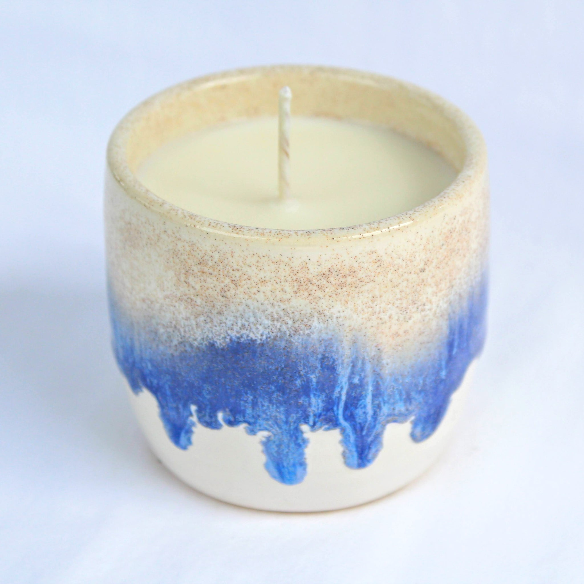 Ashen Ceramics Ocean Candle