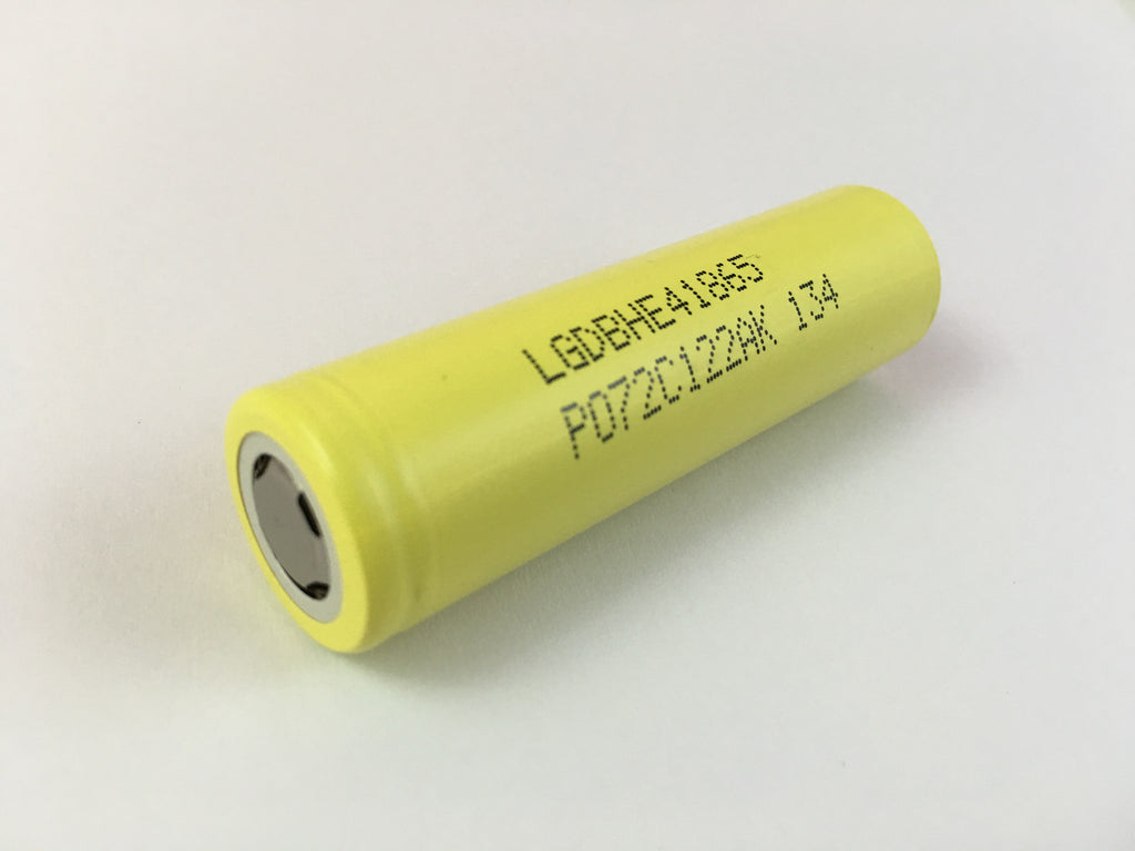 lg 18650. lg 18650 he4 unprotected 20a/35a (pulse) high discharge 3.6v 2500mah rechargeable lg e