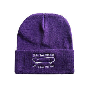 Skateboarding WA Beanie Purple