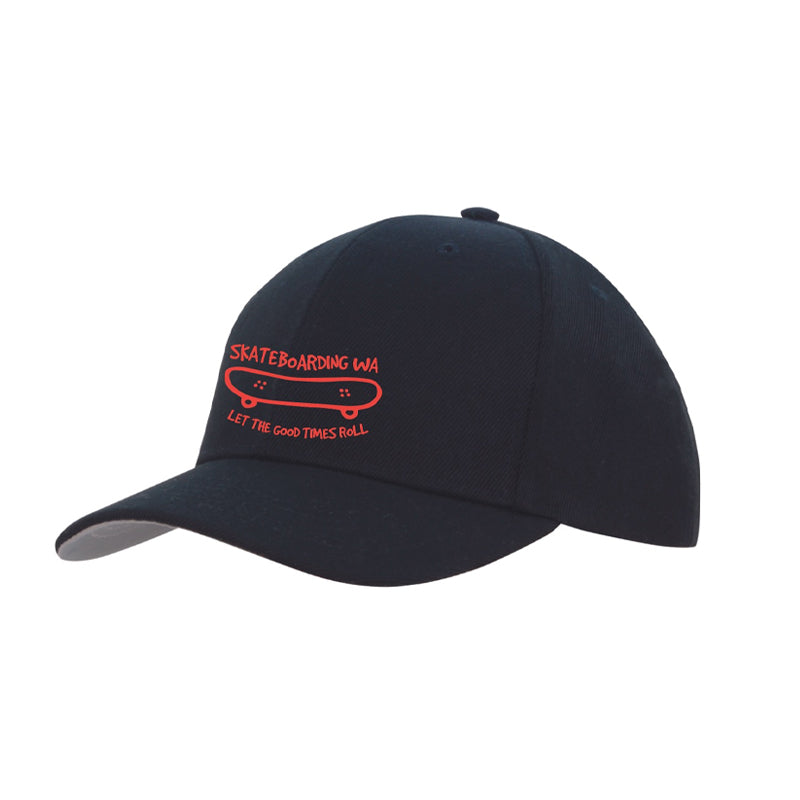 Skateboarding WA Cap Black/Red