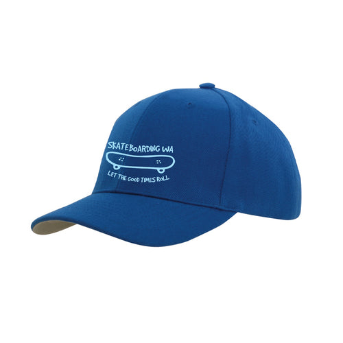 Skateboarding WA Cap Blue/Light Blue