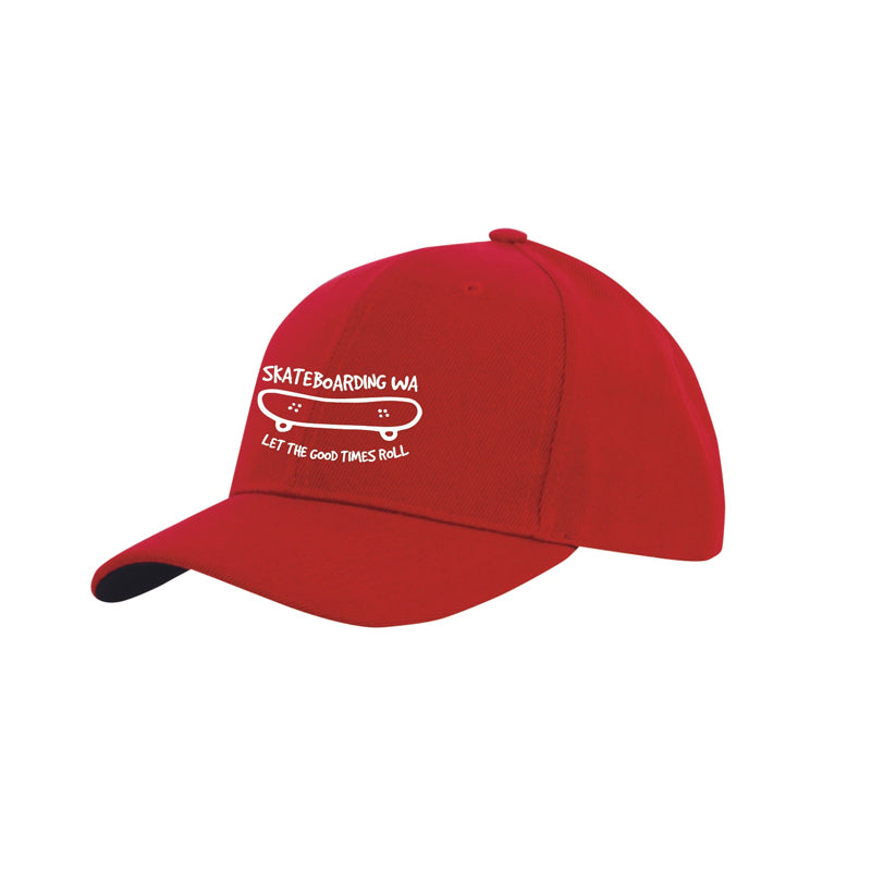 Skateboarding WA Cap Red/White
