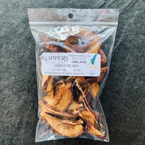 Klippers Organic Dried Pears