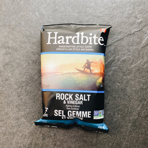 Hardbite Rock Salt + Vinegar Chips 50g