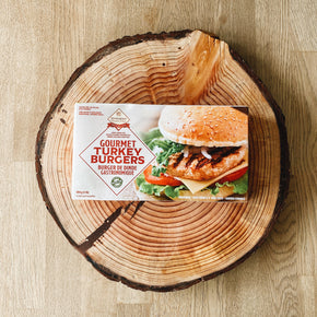 JD Farms Turkey Burgers 454g