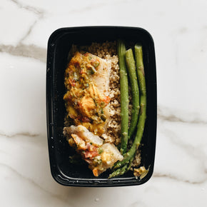Got 2 Eat Mango Fusion Fish with Quinoa & Asparagus Pre-made Meal