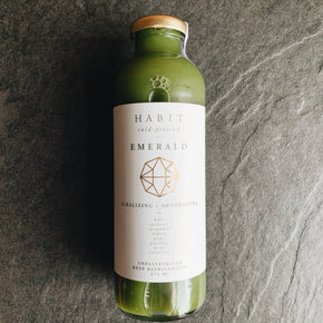 HABIT Cold-Pressed Emerald Juice