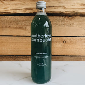 Motherlove Blue Alchemy Kombucha 500ml