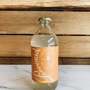 Provincial Spirits Tonic, Rose, Pistachio + Gin Cocktail *DELIVERY ONLY