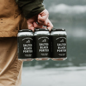 Field House Salted Black Porter 6pk *DELIVERY ONLY