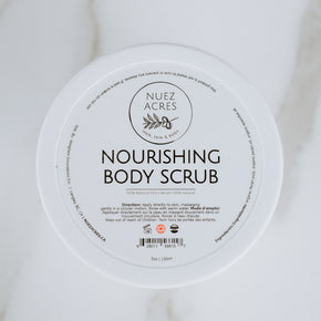 Nuez Acres Grapefruit Nourishing Body Scrub 150ml