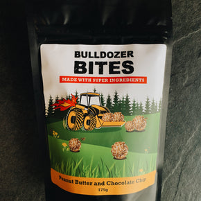 Bulldozer Bites Peanut Butter and Chocolate Chips 175g