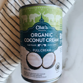 Cha's Organic Coconut Cream 400ml
