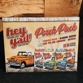 Hey Y'all Hard Iced Tea Porch Pack 12pk *DELIVERY ONLY