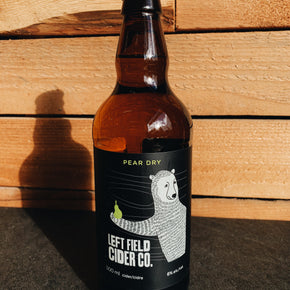 Left Field Pear Dry Cider 500ml *DELIVERY ONLY