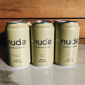 Nude Pineapple Tequila Soda 6pk*DELIVERY ONLY