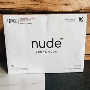 Nude Vodka Soda Mixed Pack 12x355ml*DELIVERY ONLY