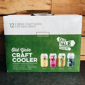 Old Yale Cooler Pack 12x355ml *DELIVERY ONLY