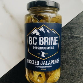 BC Brine Pickled Jalapenos 375mL