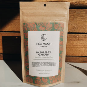 New Moon Raspberry Garden Tea 52g