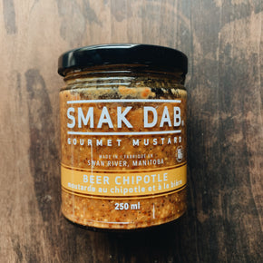 Smak Dab Beer Chipotle Mustard 250ml