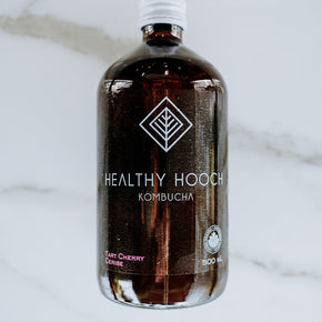 Healthy Hooch Tart Cherry Kombucha 500ml