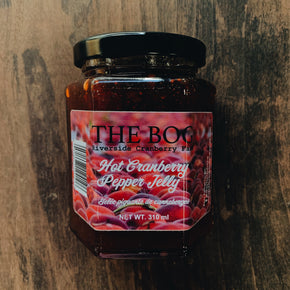 The Bog Hot Cranberry Pepper Jelly 310ml
