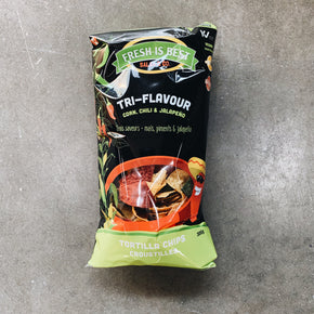 Fresh is Best Tri-Flavour Tortilla Chips (300g)