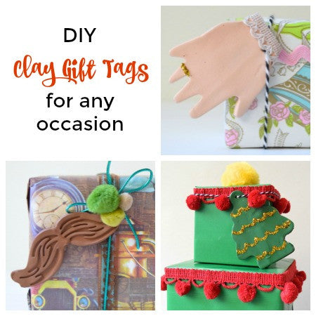 DIY Clay Gift Tags for Any Occasion {New Project Tutorial!}