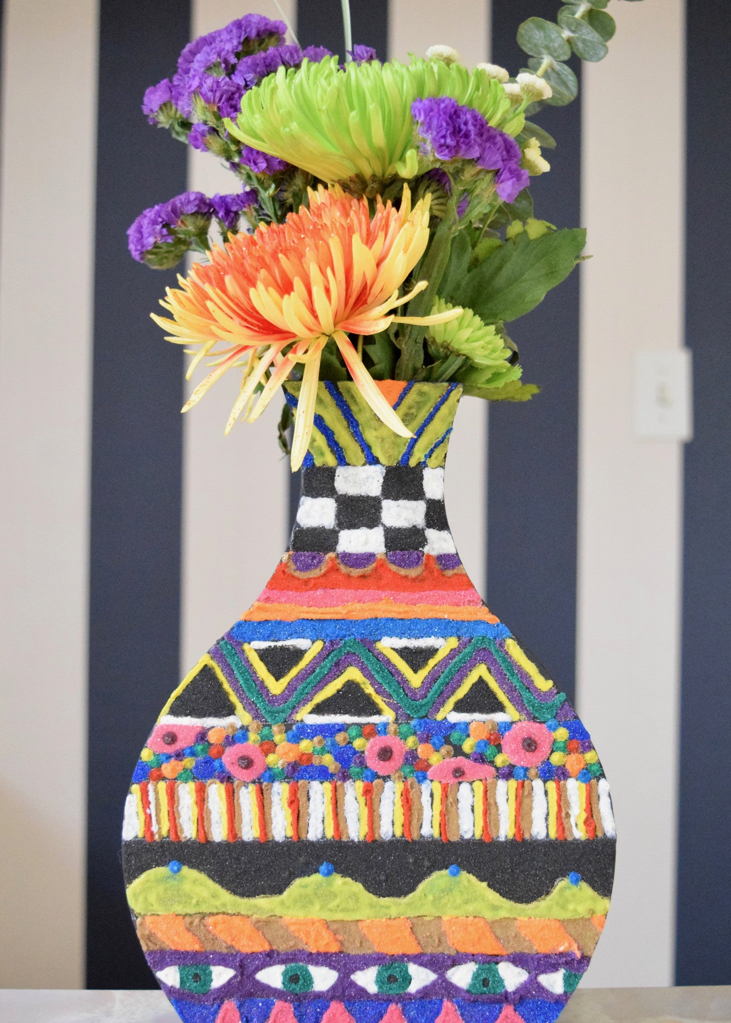 DIY Boho Vase with Scenic Sand {New Project Tutorial!}