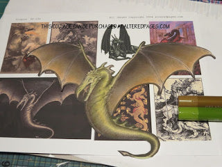 dragon images for picture craft tutorial