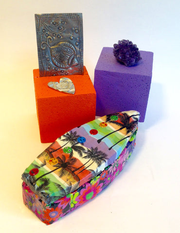 CelluClay Surfboard Treasure Box Designed by Lisa Fulmer for ACTIVA Products