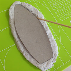 Celluclay paper mache box