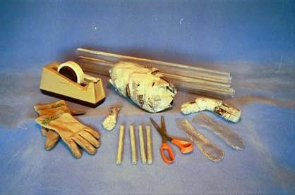 materials to make an armature