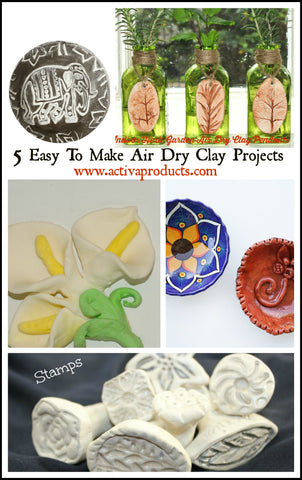 air dry clay projects for adults to do