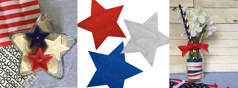 Get ACTÍVA's red, white, and blue colored sand bundle for your Fourth of July decorating and entertaining needs!