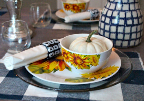 How to Make Ikat Inspired Air Dry Clay Napkin Rings