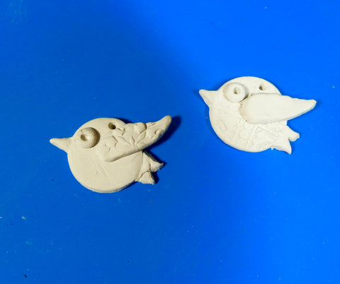 Bird Pendant Tutorial with Plus Air Dry Clay
