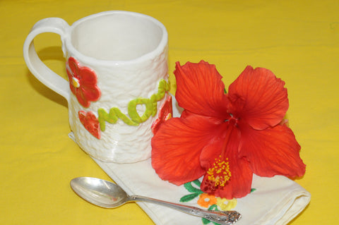 Ceramic Mug for Mom  Using Lowfire Blackjack Clay