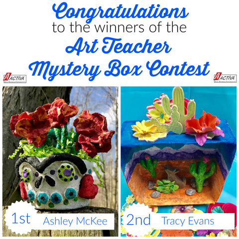 Art Teacher Mystery Box Contest Winners Announced!