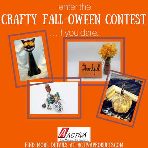 ACTÍVA's Crafty Fall-oween Contest - Enter if you Dare!