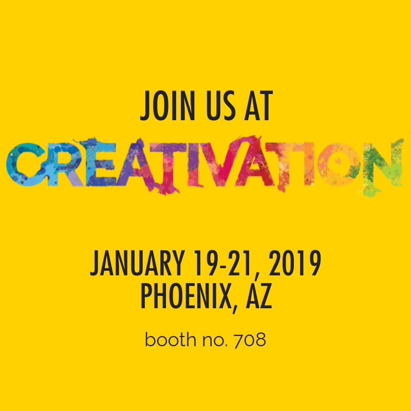 Join <em>ACTÍVA</em> Products at Creativation 2019 in Booth 708!