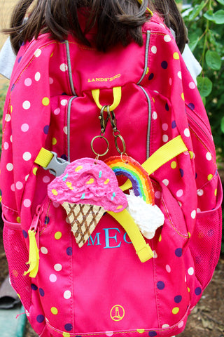 How to Make Backpack Charms with Rigid Wrap