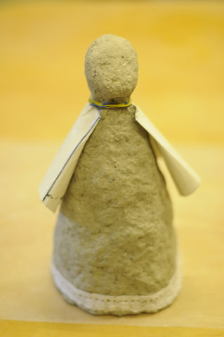 paper mache clay angel