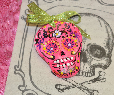 Glow in The Dark Day of The Dead Sugar Skulls