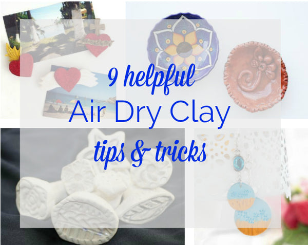 Our Best Air Dry Clay Tips