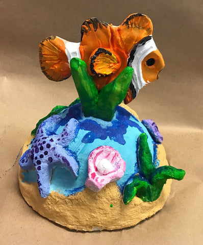 Art teacher Susan Bivona submitted this dynamic Under the Sea Sculpture lesson plan in the <em>ACTÍVA</em> Mystery Box Contest.  Click through for the full lesson plan.