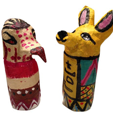 grade 6 lesson plan for art canopic jars