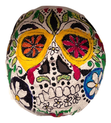 plaster cloth mask colored lesson plan