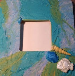 Modena Soft Sea Life Frame by Trish Alger of Altered Pages